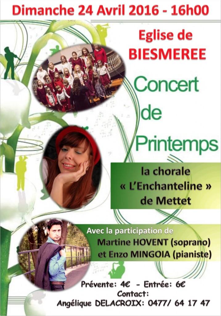 Affiche concert 20160424_Biesmeree